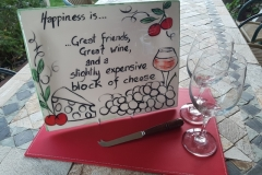 2020 wine cheese friends plater